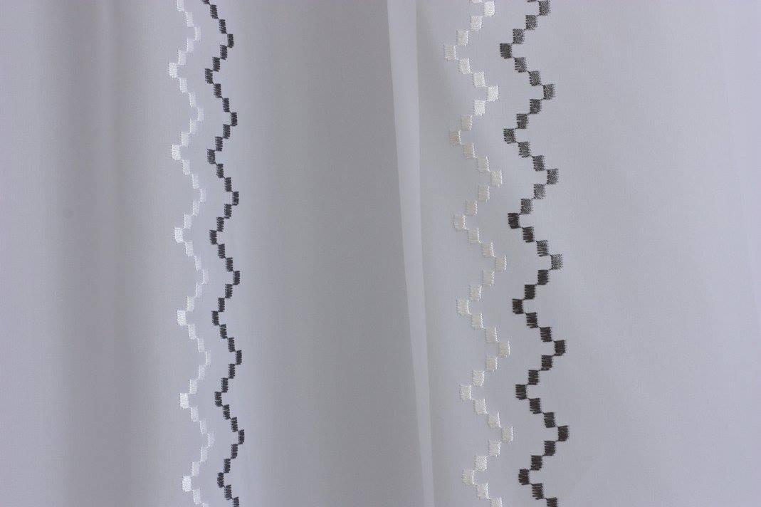 df820396b Cikkcakk mintás függöny - Lakberendezési webáruház – Otthonelegancia